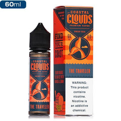 Coastal Cloud 60ML E-Liquid - Deep Sea - Vaporider