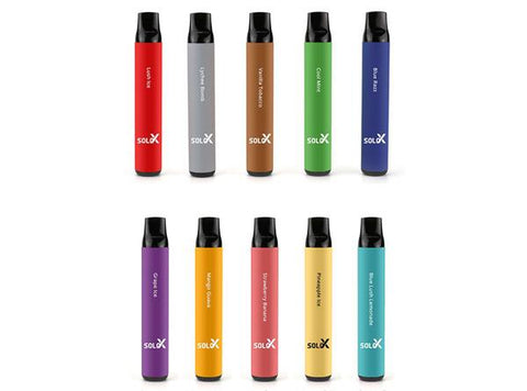 Vapeman Solo X Disposable Vape Pen - 1500Puffs (Buy One Get One Free)