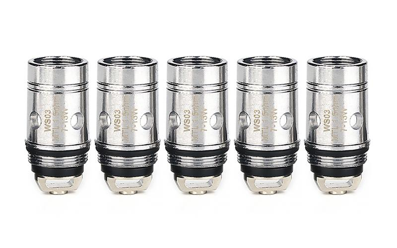 WISMEC MTL Replacement Coil Head for Amor NS (5pcs) - Vaporider