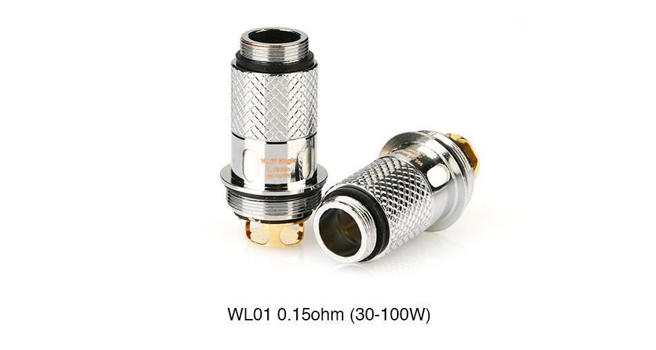 WISMEC Replacement Coil for Column Tank (5pcs) - Vaporider