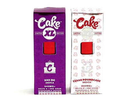 Cake XL Delta 8 Disposable Rechargeable 940MG Limited Edition