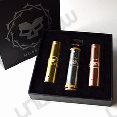 Munstro 18650 / 18500 Mechanical Mod (3-Tube Set) - Tesla - Vaporider