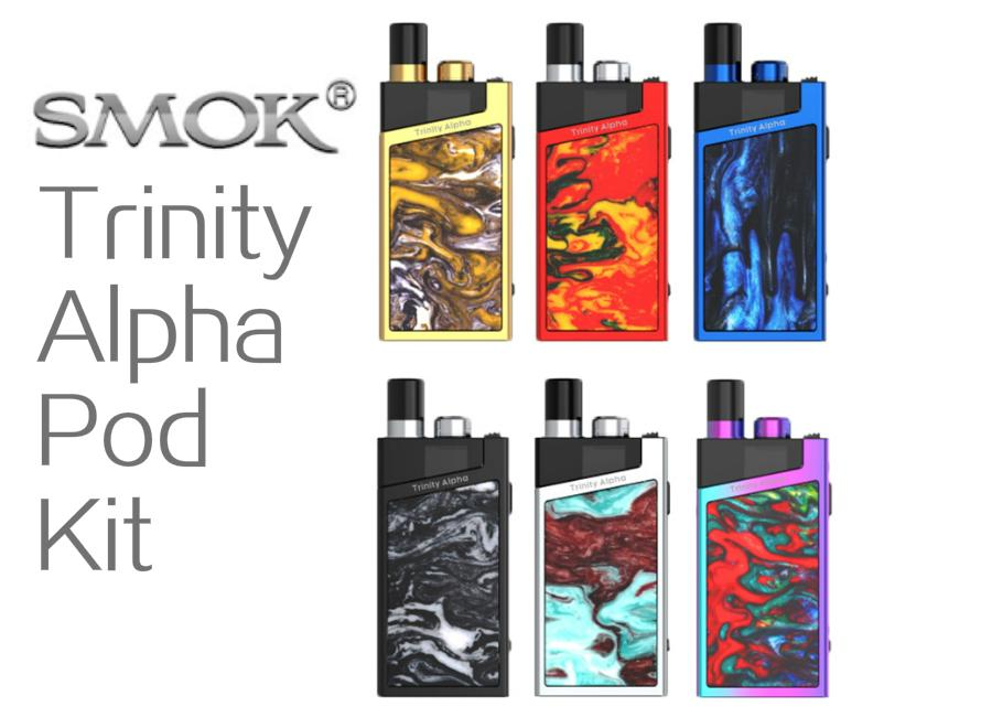 SMOK Trinity Alpha Resin Pod Kit