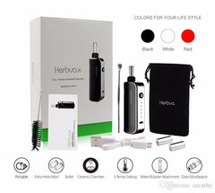 Airistech Herbva X Dry/Wax/Oil 3-in-1 Vaporizer Kit (Water Bubbler Not Included) - Vaporider