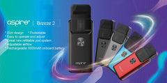 Aspire Breeze 2 AIO Starter Kit - Vaporider