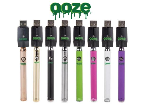 OOZE Slim Pen Twist Battery With USB SMART CHARGER