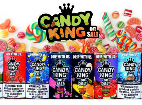 Candy King On Salt Nicotine Salt 30mL E-Liquids - Vaporider
