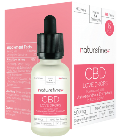 NatureFine Plus 30ML CBD Drops 500MG