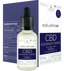 NatureFine Plus 30ML CBD Drops 500MG - Vaporider
