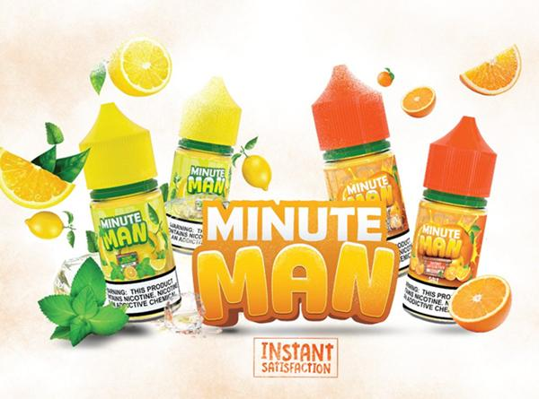 Minute Man 60ML E-Juice - Vaporider