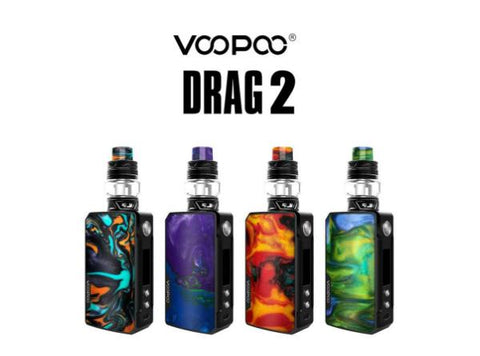 VOOPOO Drag 2 177W TC Kit with UFORCE T2 Tank - Vaporider