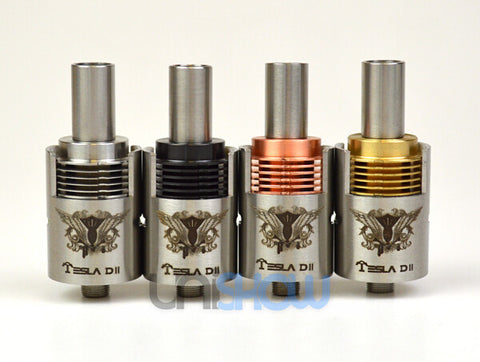 DII Rebuildable Dripping Atomizer (22 mm) - Tesla (Buy 1 Get 1 Free) - Vaporider