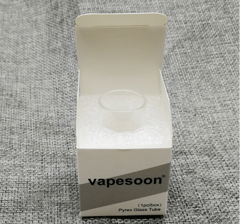 Vapesoon Replacement Pyrex Glass Tube for Vaporesso Tarot Nano TC Kit (1PC)