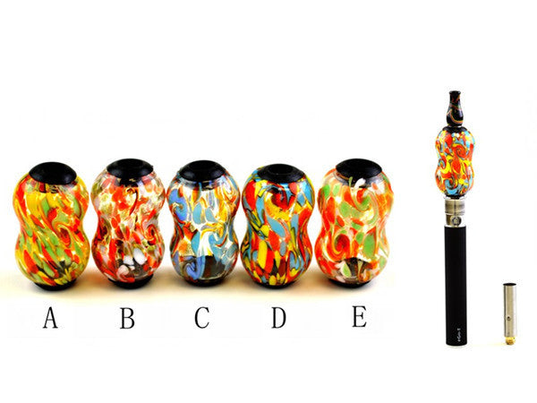 Handcrafted Glass DCT Tank-Color Spot Style - VapoRider