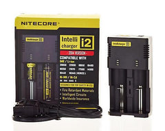 All-New NITECORE i2 Intellicharger Smart Battery Charger - VapoRider