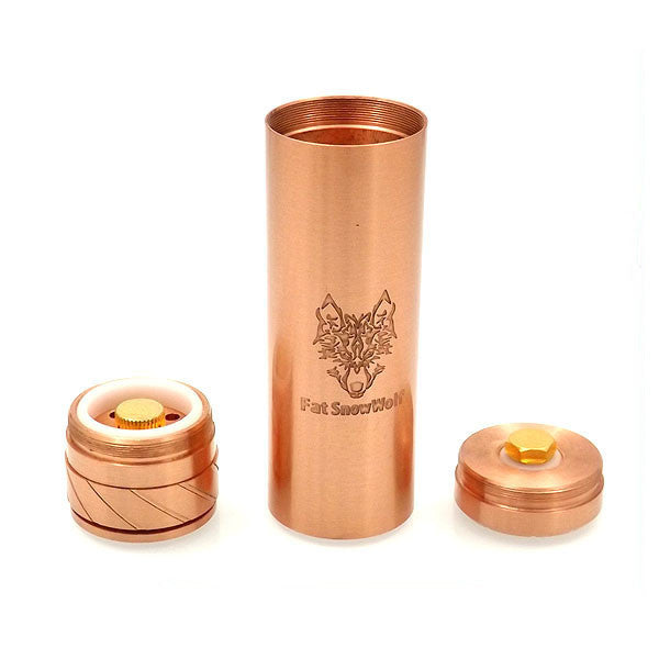Fat Snow Wolf Style Mechanical Mod (Buy 1 Get 1 Free) - Vaporider