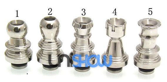 Stainless Steel 510 Drip Tip (Multiple Designs)