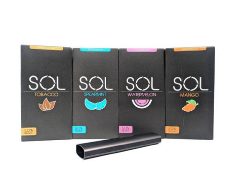 SOL Pods (2 Pods/Pack) (Buy 2 Packs Get 1 Free Device) - Vaporider
