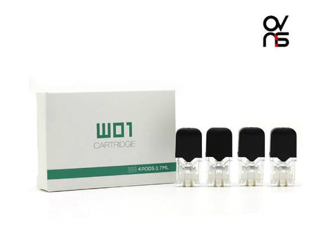 OVNS JC01 REPLACEMENT CARTRIDGE (4pcs) - Vaporider