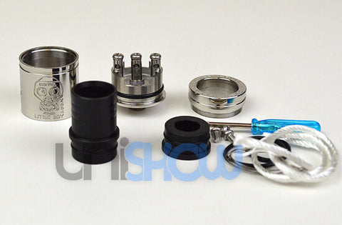 Little Boy Style Wide Bore Rebuildable Dripping Atomizer - Tobeco