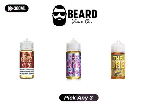 The One E-Juice Pick Any 3 Bundle - Vaporider