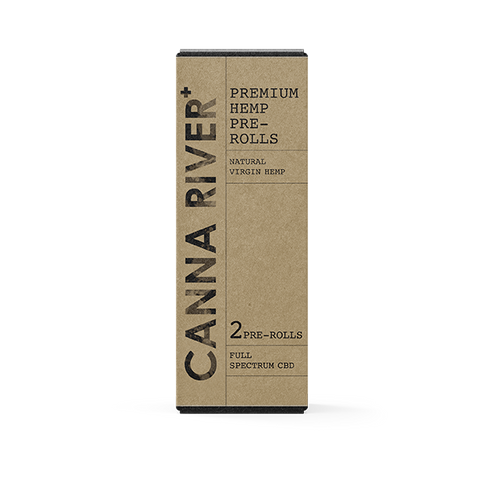 Canna River Full Spectrum Premium Hemp Pre-Rolls (2pcs) - Vaporider
