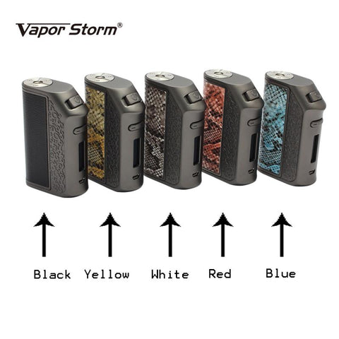 Vapor Storm 200W Snake Skin Box Mod (Sweep Out Sale) - Vaporider