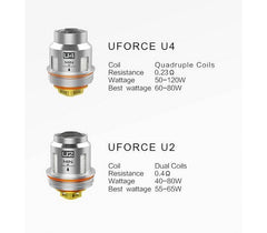 VOOPOO UFORCE Replacement Coil (5pcs/pack) - Vaporider