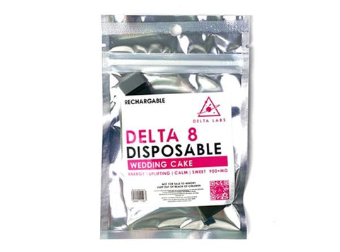 Delta Labs Rechargable Delta 8 Disposable 900+MG