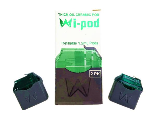Wi-Pod Replacement Pods (2pcs) - Vaporider