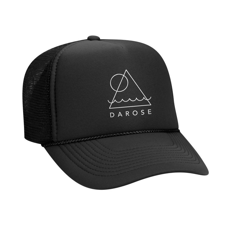 Trucker cap darose Black/ Geometry