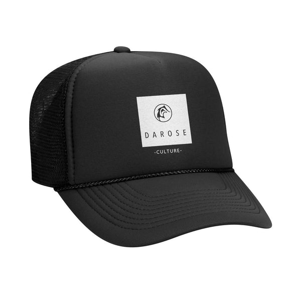 Trucker cap darose Black/ Culture