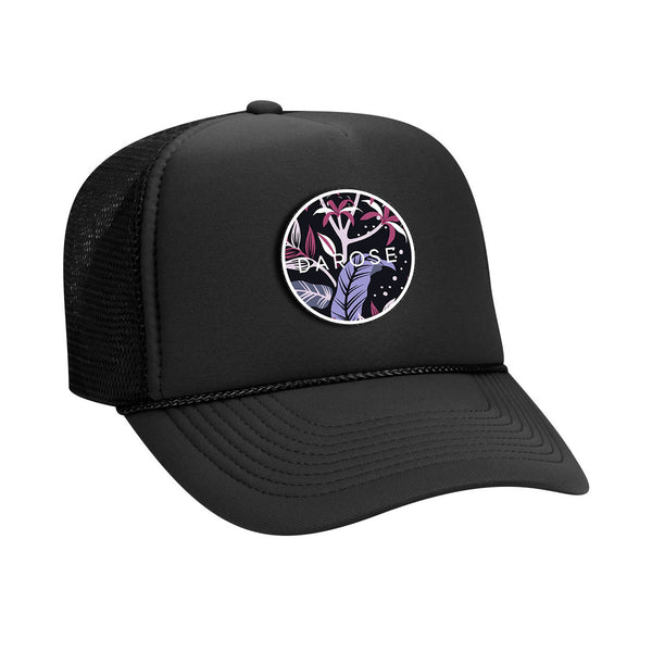 Trucker cap darose Black