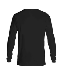 T- shirt Long sleeve men Believe black