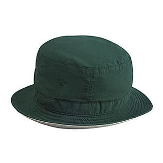MICROFIBER REVERSIBLE BUCKET HAT COLOR  GREEN