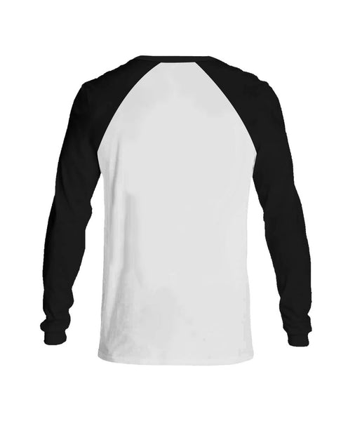 Pagans Long Sleeve Black & White.