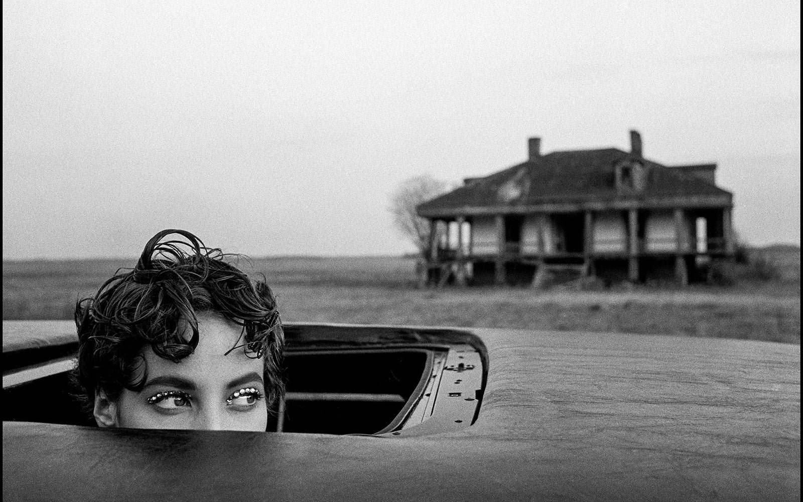 Arthur Elgort: 'Christy Turlington, New Orleans, LA, British Vogue', 1990 | Archival pigment print | Lenscloud