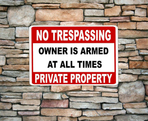no soliciting sign private property