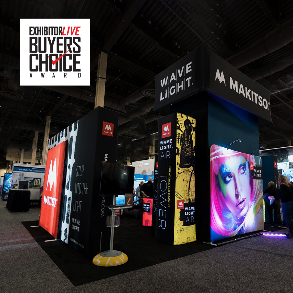Makitso® USA Wins Buyers Choice Award at EXHIBITORLIVE