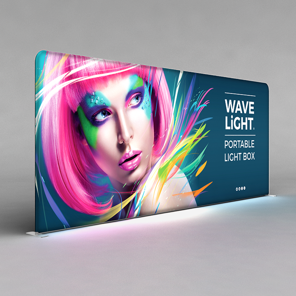 10 x 20 WaveLight Backlit Displays