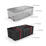 CA700 Counter Case for trade shows and events - dimensions.