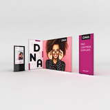 Infinity DNA™ Pro Light Box 950L 3ft Display for exhibits, retail and events