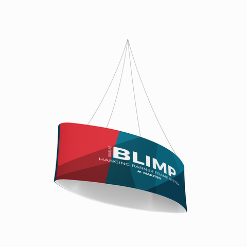 Makitso Blimp Eclipse Hanging Banner System