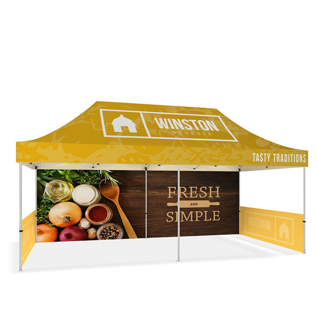 Outdoor Popup Canopy Tent - 20ft – Makitso Displays