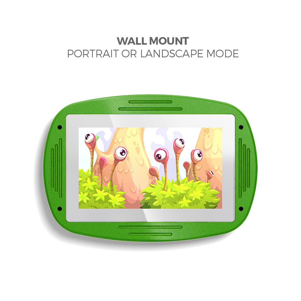 Makitso 4k Interactive Children's Touch Screen Monitor Table Green Wall Mount