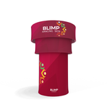 WaveLine® XL Blimp Circular Tower Stand Alone Display or Island Exhibits