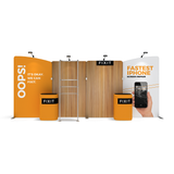 Makitso WaveLine Media® - WLMAEEA Tension Fabric Display