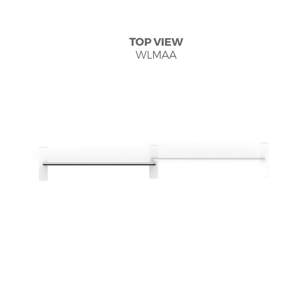 WaveLine Media® Display WLMAA Kit top view