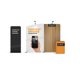 WaveLine Media® Display Kit WLMAK1 with banner stand