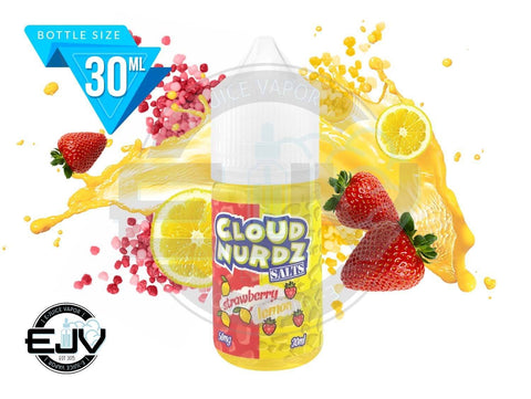 Strawberry Lemon by Cloud Nurdz Salt 30ml